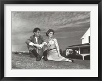 Framed Jack and Jackie, 1953