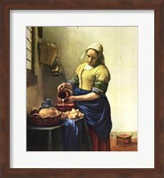 Framed Milkmaid, The