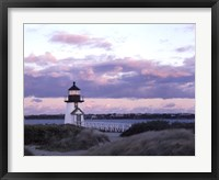 Framed Brant Point Light