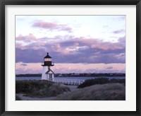 Framed Brant Point Light