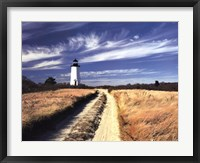 Framed Cape Poge Lighthouse