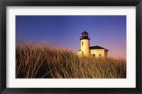 Framed Coquille River Lighthouse, Oregon