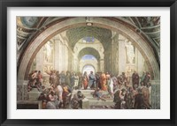 Framed School of Athens, c.1511