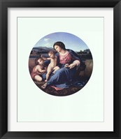 Framed Alba Madonna, c.1514