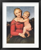 Framed Small Cowper Madonna, c.1505