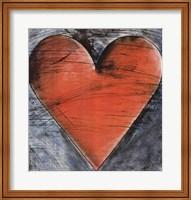 Framed Philadelphia Heart