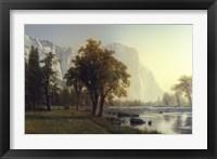 El Capitan, Yosemite Valley, California, 1875 Framed Print