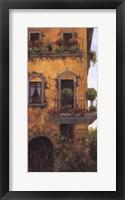 Framed Verona Balcony II