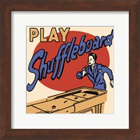 Framed Play Shuffleboard