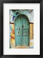 Framed Arched Doorway [black border] (13-3/4 x 19-1/2)