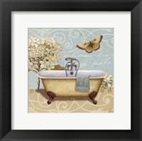 Light Breeze Bath I Framed Print