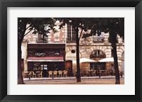 Framed Chez Paul