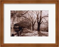 Framed Hampstead Ponds, London
