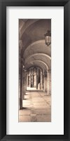 Framed Paseo del Espolon, Salamanca