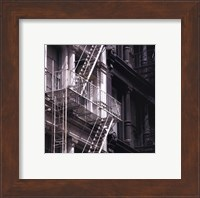 Framed Fire Escape