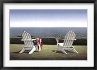 Framed Spring House View