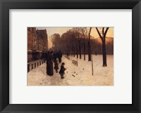 Framed Boston Common at Twilight, 1885-86
