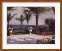 Framed Palm Vista