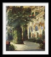 Framed Interior of a Palm House