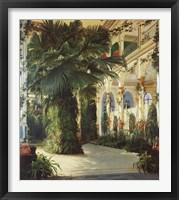 Framed Interior of a Palm House