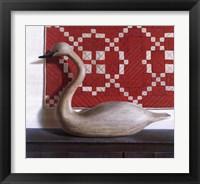 Framed Mute Swan
