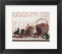 Framed Strawberry Time