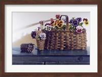 Framed May Baskets