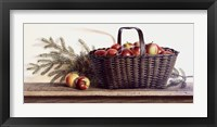 Framed Winter Apples