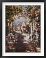 Framed Romantic Pathway I