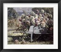 Framed Barrow of Blooms