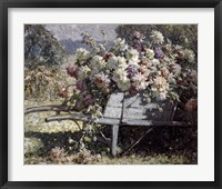 Framed Barrow of Blooms