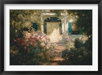 Framed Doorway and Garden