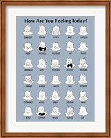 Framed How Are You Feeling Today?