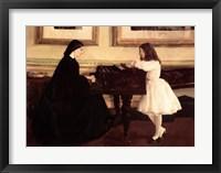 Framed At the Piano