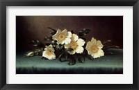 Framed Four Cherokee Roses