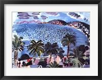 Framed Mediterranean Scene