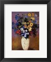 Framed Vase of Flowers, 1914