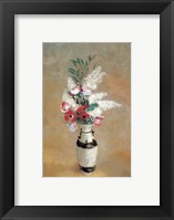 Framed Vase of Flowers, ca. 1912-14