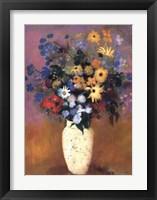 Framed Vase of Flowers, 1914