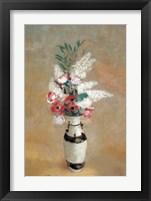 Framed Vase of Flowers, ca. 1912-14