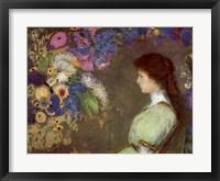 Framed Mlle Violette
