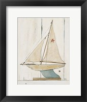 Framed Pond Yacht II