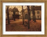 Framed Le Village en Automne