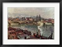Framed Stone Bridge, Rouen
