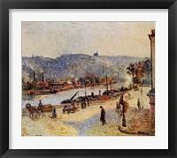 Framed Quays At Rouen