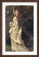 Framed Ophelia, ca. 1865