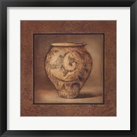 Earthenware Accent I Framed Print