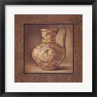 Earthenware Accent II Framed Print