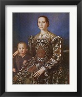Framed Eleanore and Son