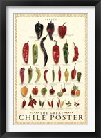 Framed Great Chile Poster